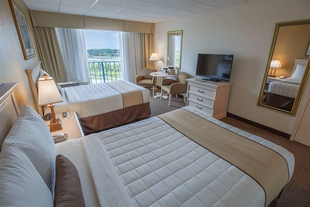 closeup of beds