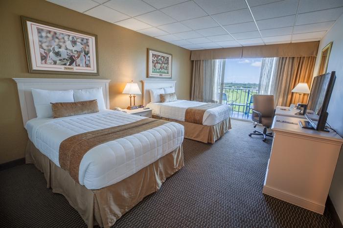Stadium Hotel Guestroom